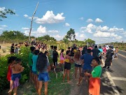 O clima é tenso na Br-226 entre Barra do Corda e Grajaú dentro da reserva indígena.