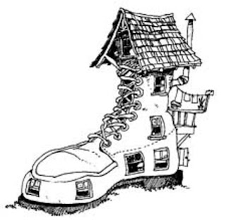 inkspired musings: Old Women, too many kids and Shoes