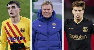 Rivaldo praises 'brave' Koeman ability to use youngsters like Riqui Puig and Pedri