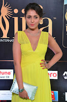 Madhu Shalini Looks Super Cute in Neon Green Deep Neck Dress at IIFA Utsavam Awards 2017  Day 2  Exclusive (1).JPG