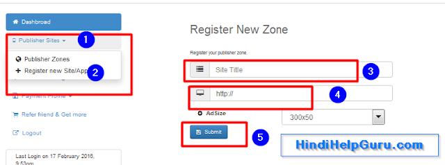 Online Kamaye Mobile blog Website Me Ads Se