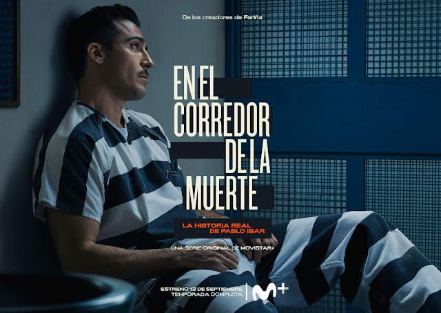 En el corredor de la muerte, serie, Movistar, Miguel Ángel Silvestre