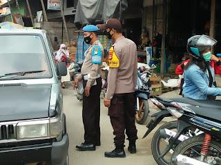 Patroli Polsek Alla Terus Sosialisasikan Prokes Ke Masyarakat
