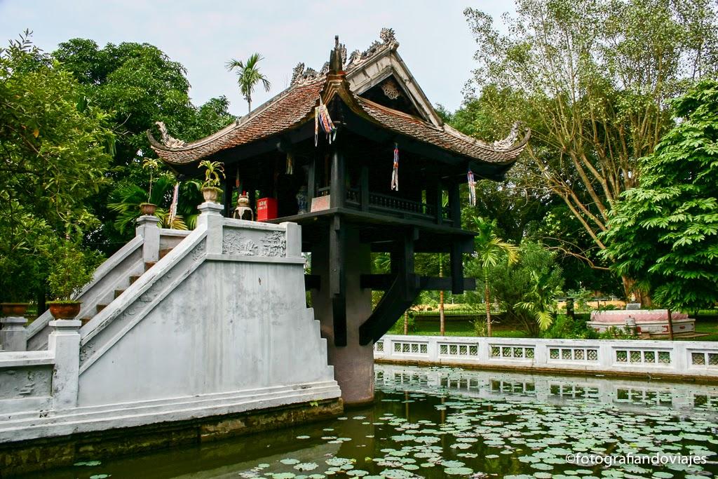 Chua Mot Cot, pagoda pilar único, hanoi, vietnam