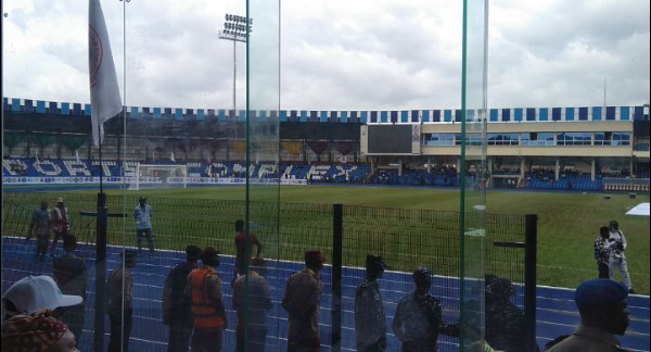 APC claims the transformed version of Lekan Salami Stadium is an inferior structure