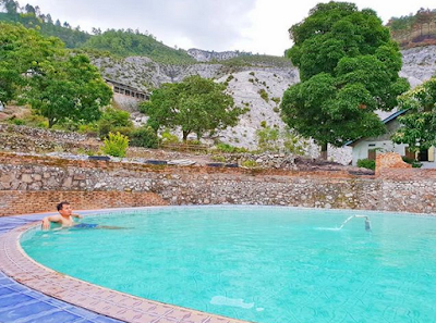 Wisata Aek Rangat, Pemandian Air Panas Pulau Samosir