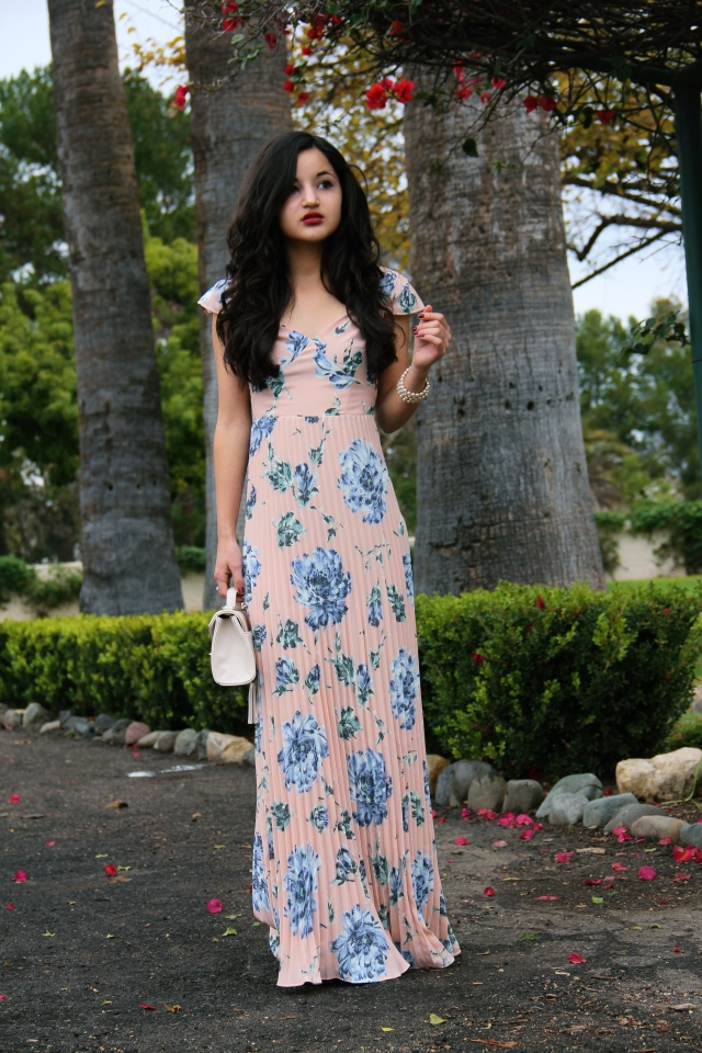 Blush Wedding Dress Petite : Asos lace back floral wedding bridesmaid maxi dress petite blush pink