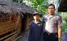 Subhanallah, Demi Bangun Rumah Fakir Miskin, Polisi Ini Rela Jual Motornya
