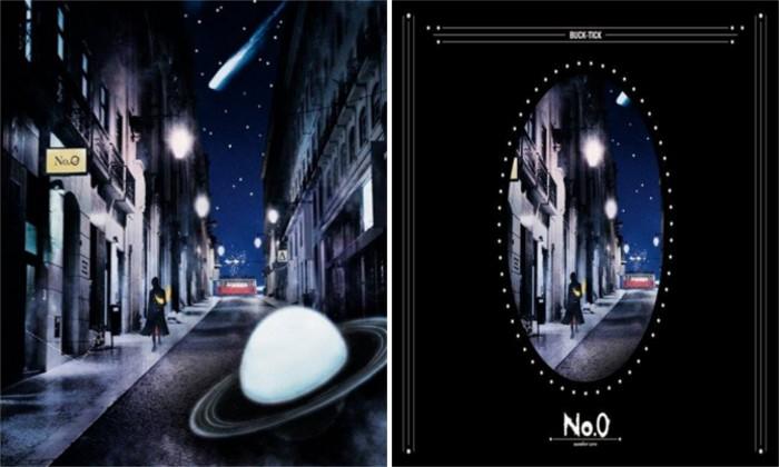 Buck-Tick No.0 álbum portadas