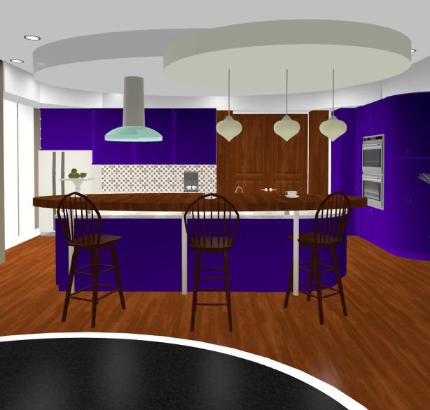 Design interior living cu bar
