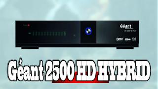 2020 Mise A Jour Géant 2500 HD HYBRID