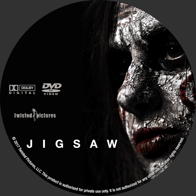 Jigsaw DVD Label