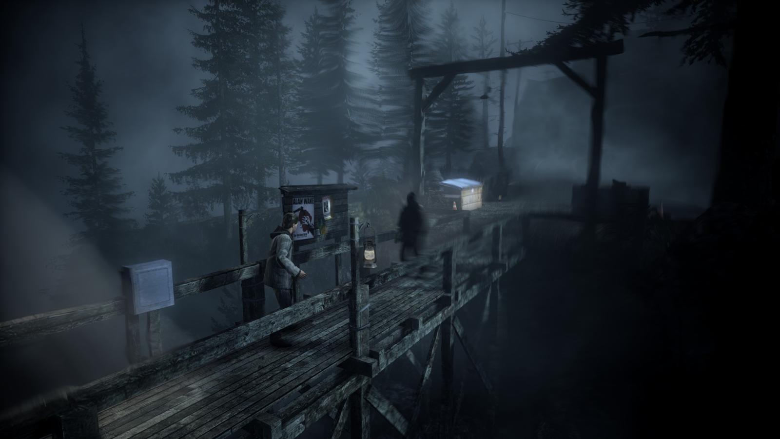 Alan Wake | 8 jogos para vivenciar o medo