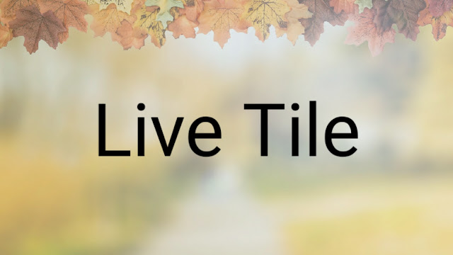 xiaomiintro Live Tile