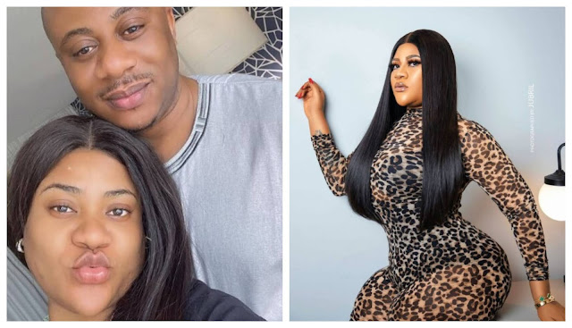 She is the gift that gave my life an Upliftment- Actress Nkechi Blessing's politician boyfriend, Opeyemi gushes on her
