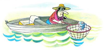 fabula corta el pescador y el pez