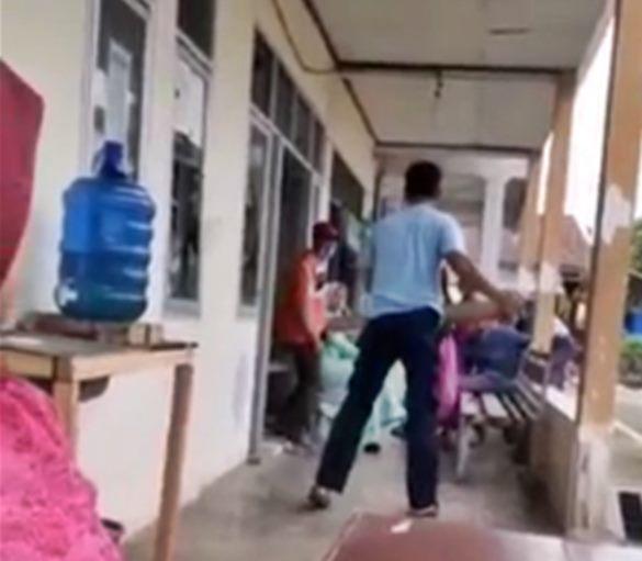 Oknum Damkar Mengamuk di Kantor Wali Nagari