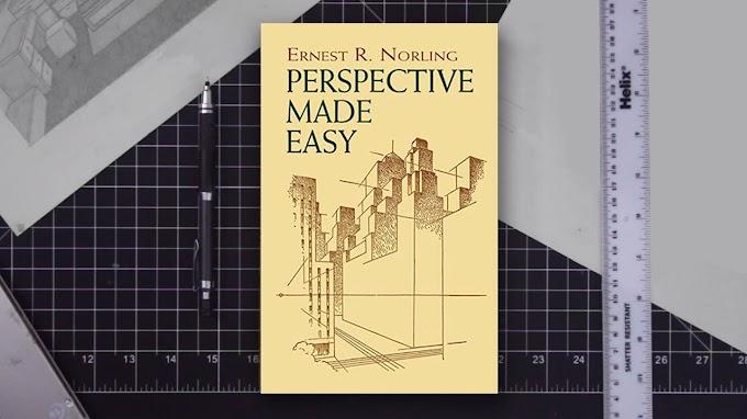Top 4 sách dạy vẽ chủ đề Phối Cảnh dễ hiểu nhất (Perspective)