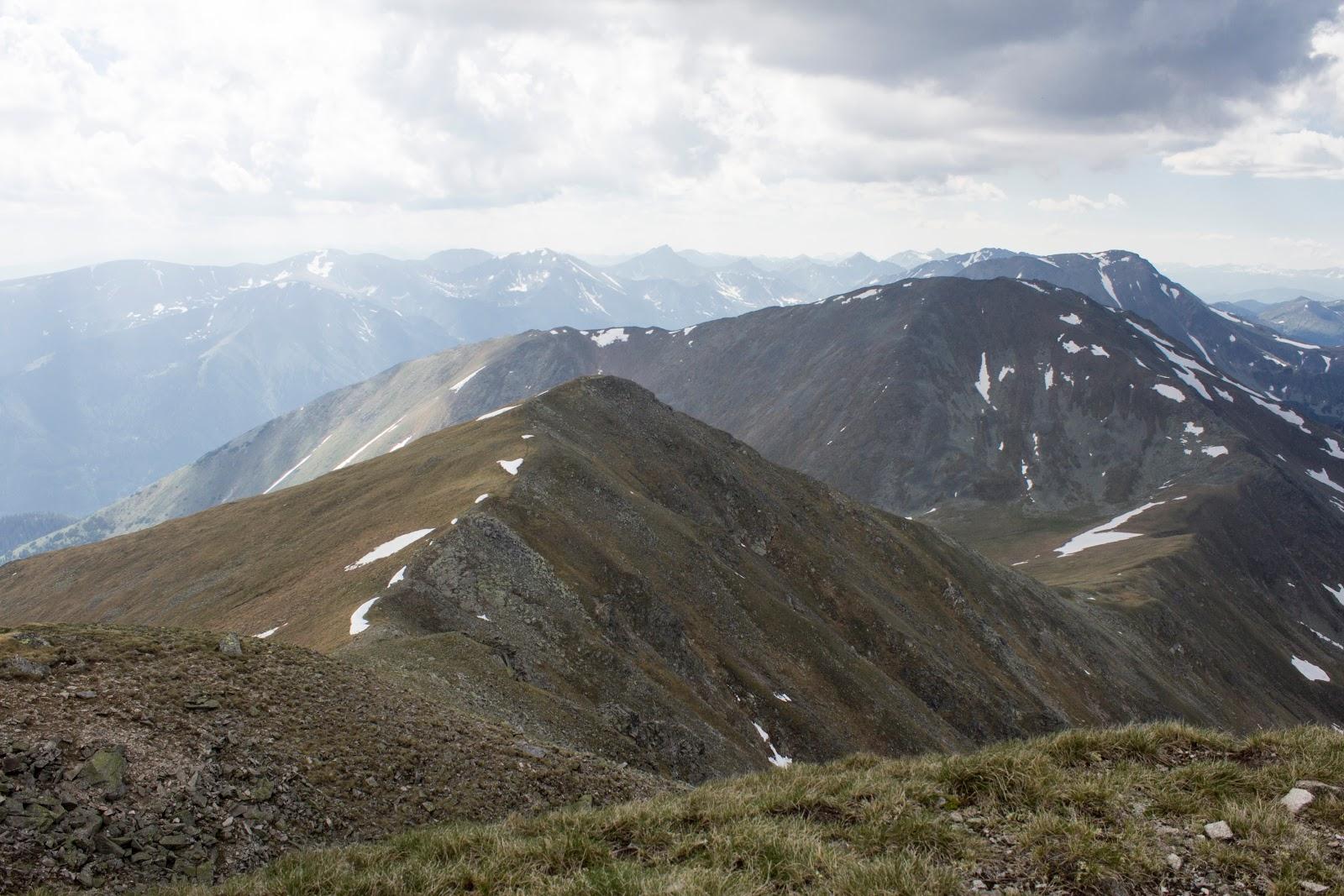 Blick vom Seckauer Zinken - Von der Unteren Bodenhütte über den Hämmerkogel zum Seckauer Zinken - mittelschwere Wanderung in den Niederen Tauern