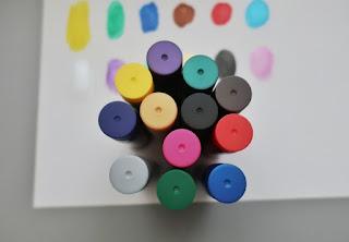 biedronka farby w sztyfcie
