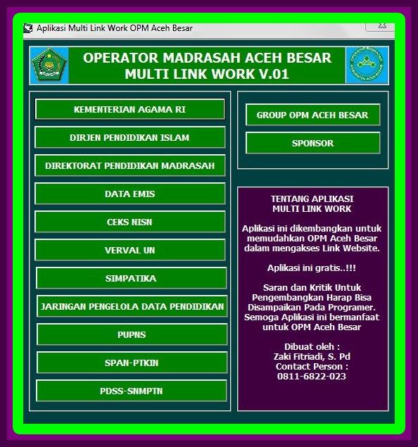 Download Aplikasi Multi Link Khusus Untuk Operator Sekolah Terbaru Versi 2017