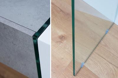 moderní nábytek Reaction, nábytek se sklem, nábytek s designem kamene