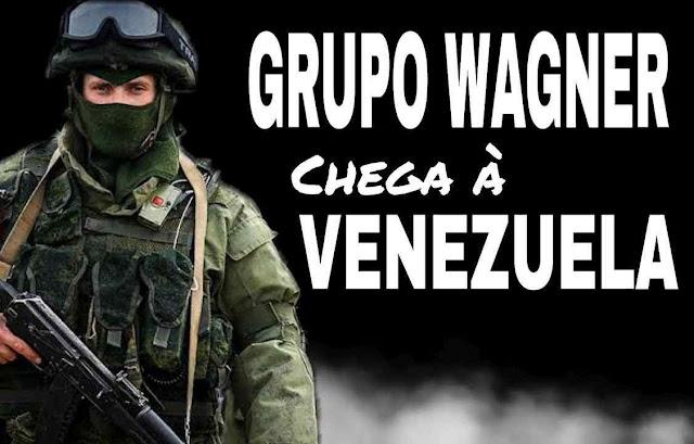 Wagner na Venezuela.