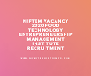 NIFTEM Vacancy 2020 Food Technology Entrepreneurship Management Institute Recruitment