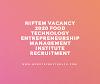 NIFTEM Vacancy 2020 Food Technology Entrepreneurship Management Institute Recruitment
