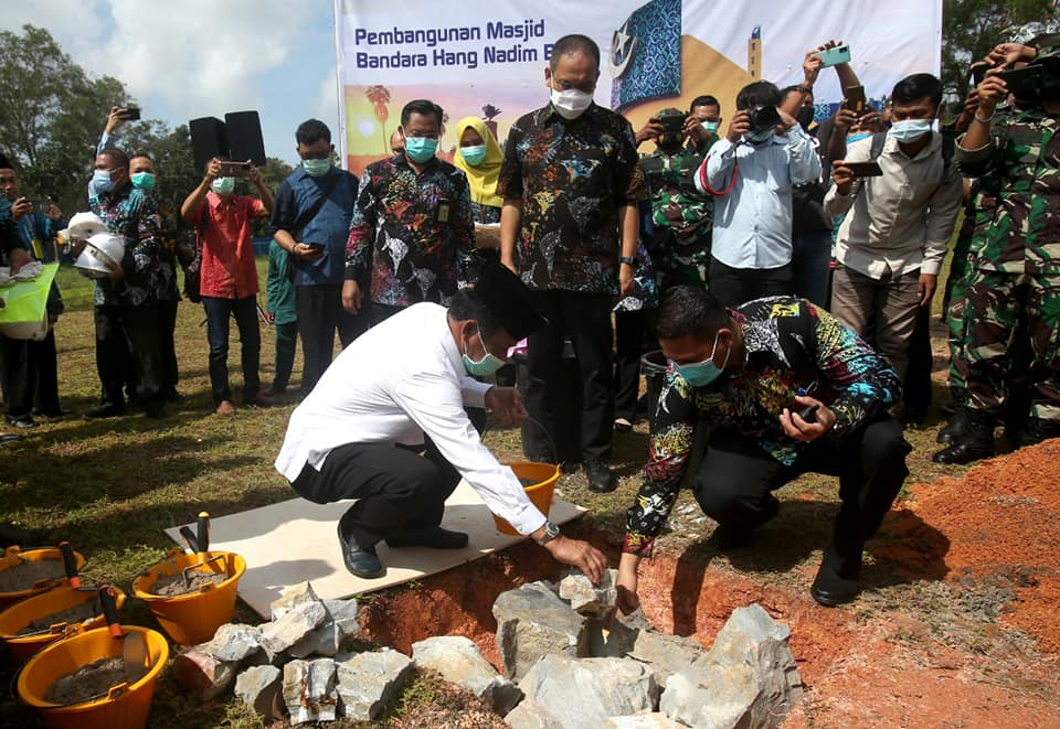 Pembangunan Masjid Di Kawasan Bandara Hang Nadim Batam Akhirnya Terrealisasi