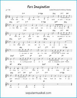 chord pure imagination lagu jazz standar