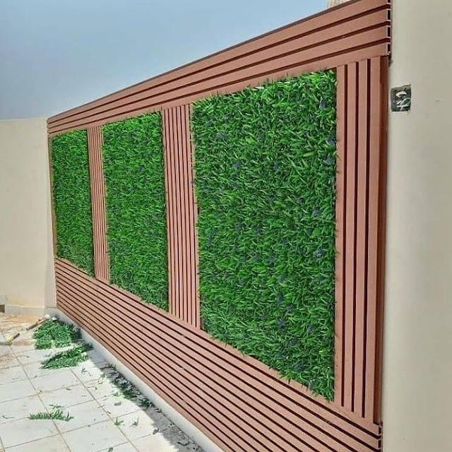 تركيب عشب جداري بالدمام