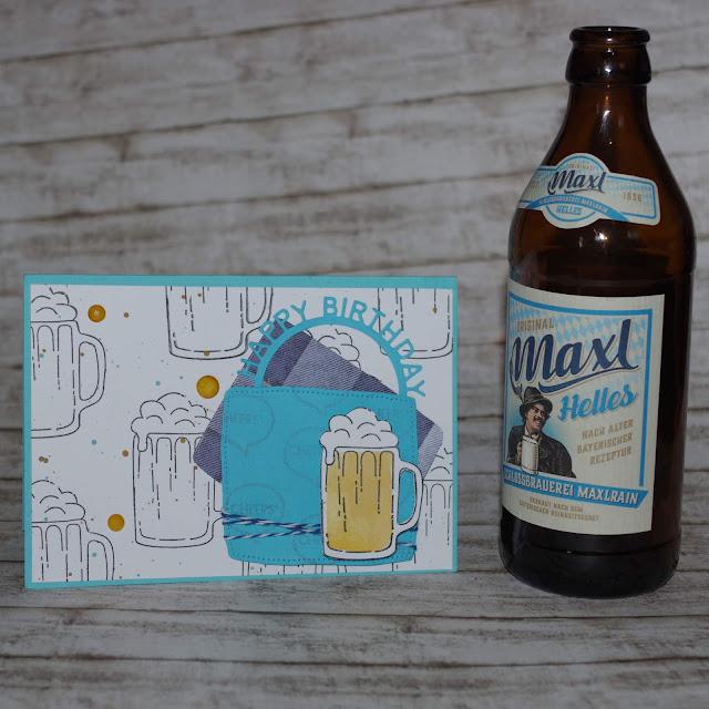 [DIY] Happy (Beer) Birthday! Geburtstagskarte für Bierliebhaber.