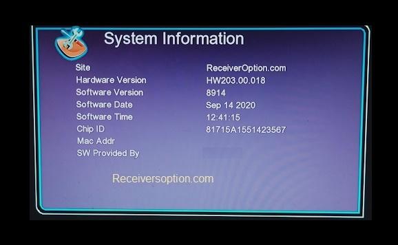 GX6605s F1, F2 Hw203.00.018 HD Receiver New Software