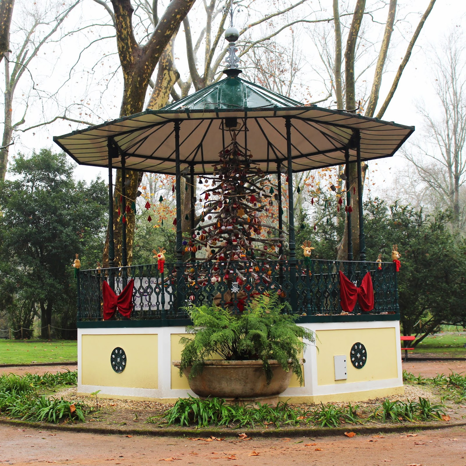 Coreto Parque D. Carlos I - Caldas da Rainha