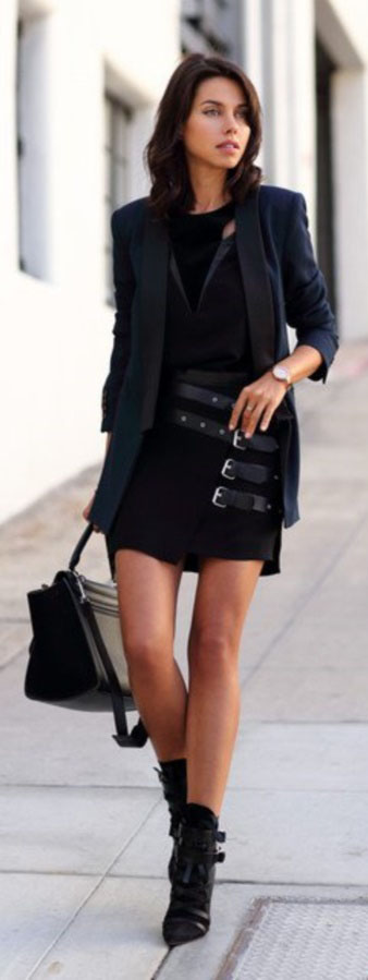 How To Wear All Black Outfits #springoutfits