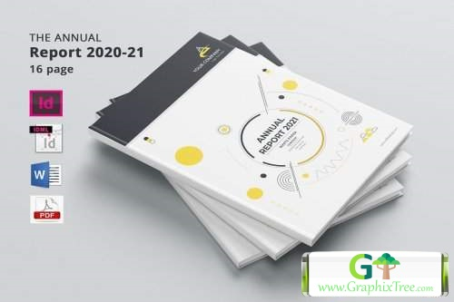 Annual Report 24 page's 5459591 [Powerpoint] [Indesign & Powerpoint]