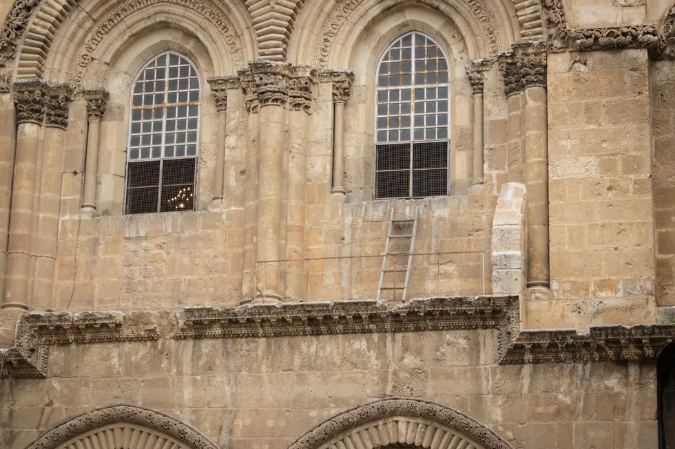The Immovable Ladder