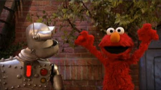 Elmo pretends he's the letter Y to Memorybot. Sesame Street The Best of Elmo 2