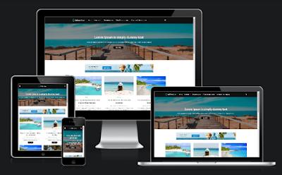 3 Template Blog Terbaik Untuk Niche Travelling Dan Wisata