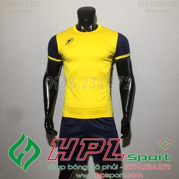 Áo ko logo Fagan DG màu vàng