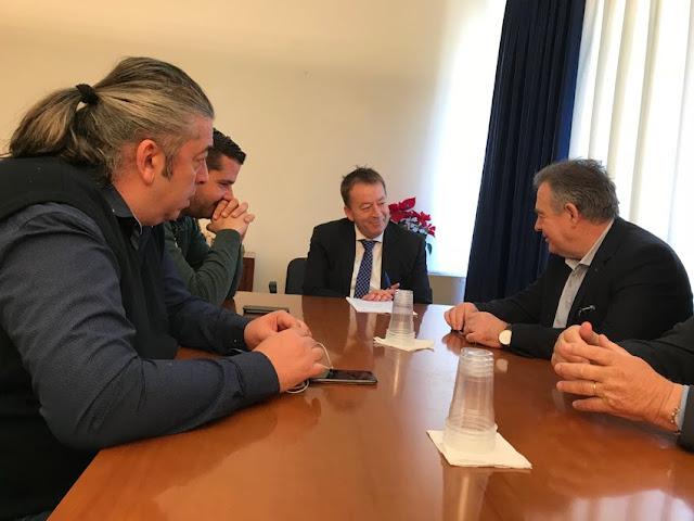 Συνάντηση του Συνδέσμου Αγροτικών Συνεταιριστικών Οργανώσεων και Επιχειρήσεων Ελλάδας με τον υφυπουργό Αγροτικής Ανάπτυξης