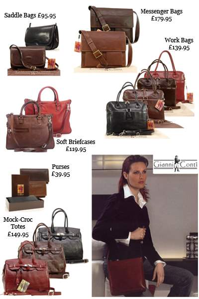 Gianni Conti For The Who Loves Luxury Leather Bags Handbags And Purses