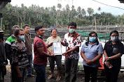 5 Kelompok Budidaya Ikan di Desa Tombatu III Terima Sertifikat