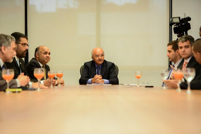 Governador José Melo e ministro do Esporte, George Hilton, abrem evento de mobilização para Revezamento da Tocha Olímpica