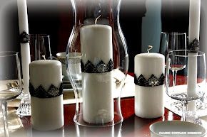 Lace Candle Crowns