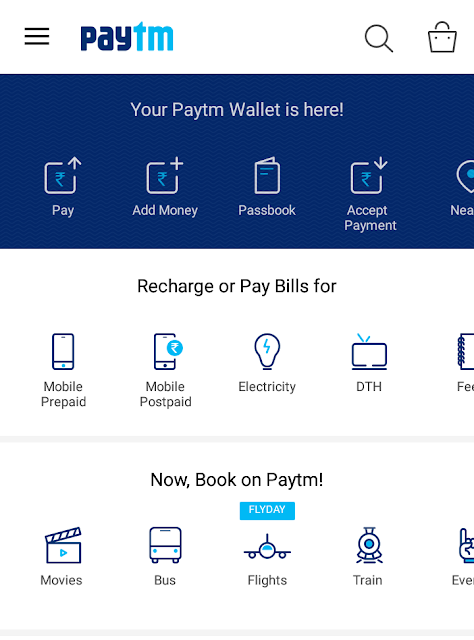 Now you can use Paytm for Shopping across all major retail brand outlets in India