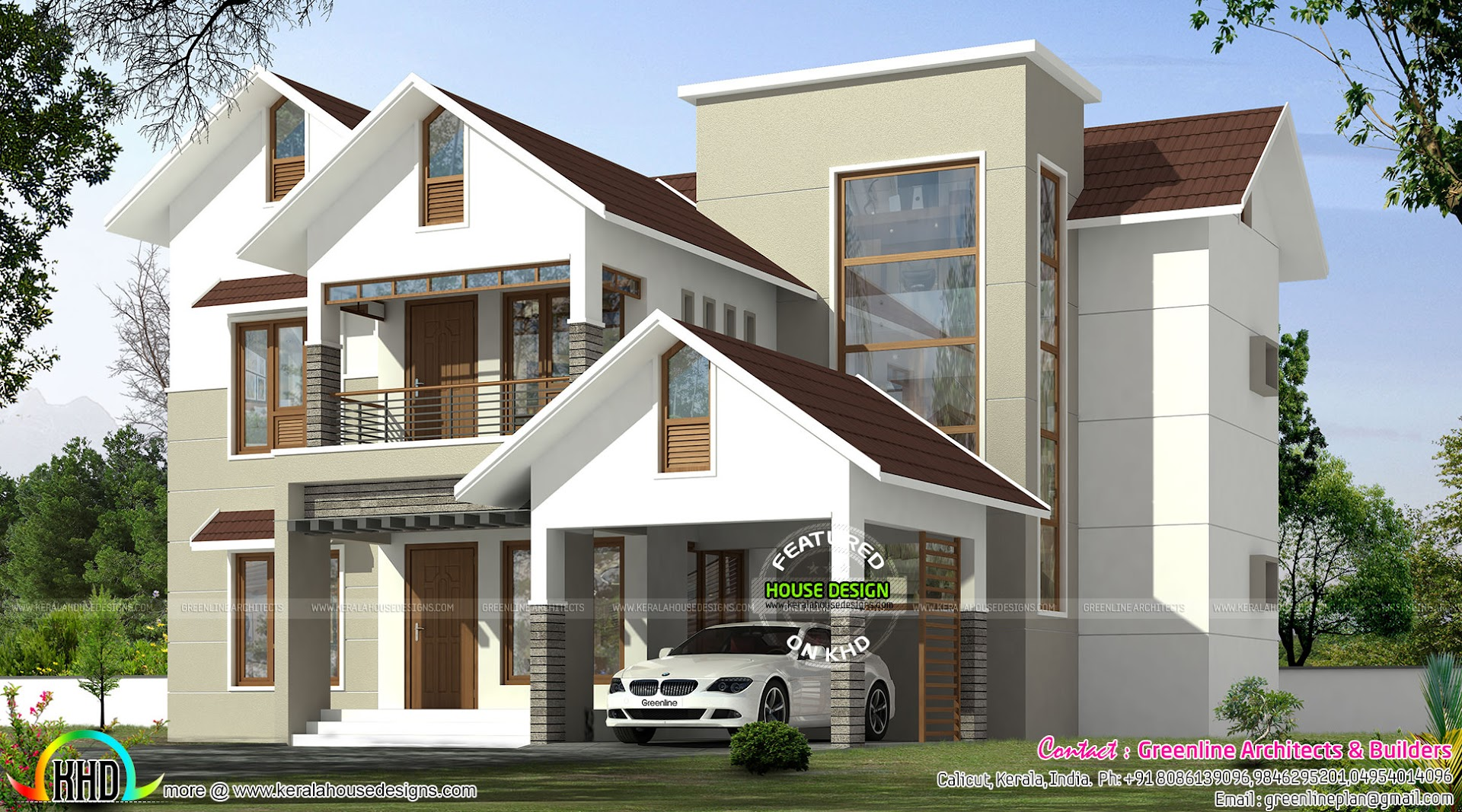 See floor plans read more please follow kerala home design - Design Style Sloped Modern Style See Facility Details Read More Please Follow Kerala Home Design