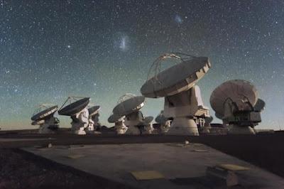 potenti e complessi sistemi del radiotelescopio Alma