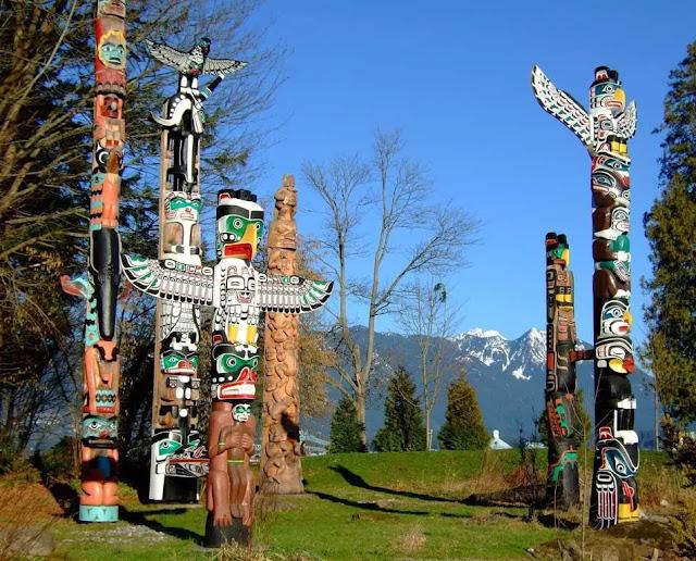 Kiksadi Totem Park in Wrangell, Alaska